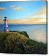 Cape Tryon Lighthouse Canvas Print