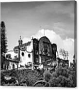 Capilla Del Cerrito - Basilica De Guadalupe - Mexico City I Canvas Print
