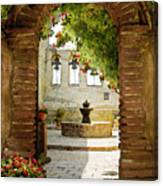 Capistrano Gate Canvas Print