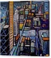 Capital City Canvas Print