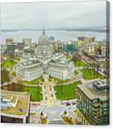 Capital Panoramic Canvas Print