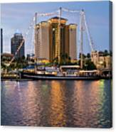 Capitan Miranda In Tampa Canvas Print