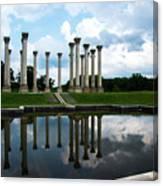 Capitol Columns, National Arboretum Canvas Print