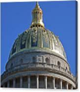 Capitol Dome Charleston Wv Canvas Print