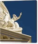 Capitol Frieze Sculpture Canvas Print