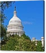 Capitol Gains Canvas Print