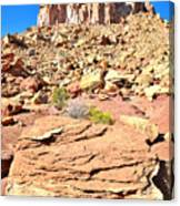 Capitol Reef Castle Canvas Print