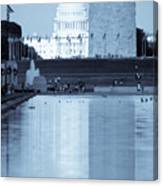 Capitol Reflections Iv Canvas Print