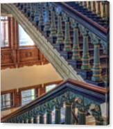 Capitol Stairwell Canvas Print