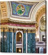 Capitol Rotunda -madison - Wisconsin Canvas Print