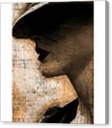 Capones Girl Canvas Print