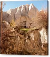 Cappadocia Dovecotes Canvas Print