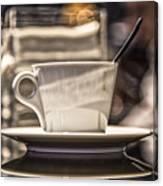 Cappuccino In Milan Canvas Print