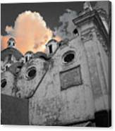 Capri Church Canvas Print