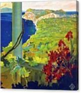 Capri, Italy, Italian Riviera, Scenery Canvas Print