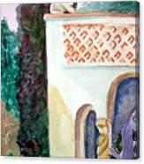 Capri Sphinx Canvas Print