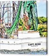 Capt. Redd Canvas Print