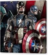 Captain America - America Canvas Print