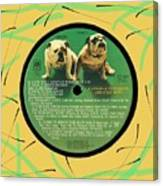 Captain And Tennille Greatest Hits Lp Label Canvas Print