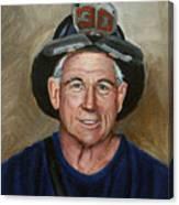Captain E.j. Canvas Print