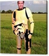 Captain James T Kirk Stormtrooper Canvas Print