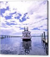 Captain Jp's Paddle Boat Canvas Print