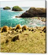 Captivating Coastal Cliff Canvas Print