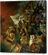 Capture Of Azov Canvas Print
