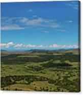 Capulin Panorama Canvas Print