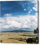 Capulin Volcano View New Mexico Canvas Print