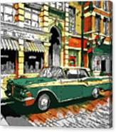 Car Club 1960s Canvas Print