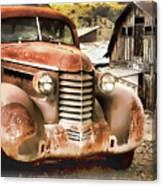 Car Full Of Memories, Ghost Town, Jerome, Arizona Canvas Print