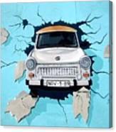 Car Graffiti Canvas Print
