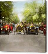 Car - Race - Hold On To Your Hats 1915 Canvas Print