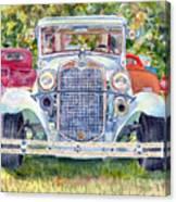Car Show Canvas Print