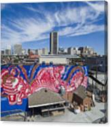 Caratoes Richmond Mural Project Canvas Print