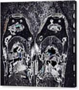 Carbon Footprint Canvas Print