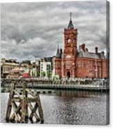 Cardiff Bay Skyline Canvas Print