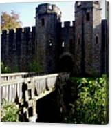 Cardiff Castle Gate Canvas Print