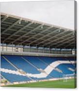 Cardiff - City Stadium - North Stand 1 - July 2010 Canvas Print