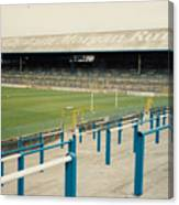Cardiff - Ninian Park - East Stand Railway Side 3 - August 1991 Canvas Print