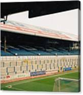 Cardiff - Ninian Park - East Stand Railway Side 5 - March 2004 Canvas Print