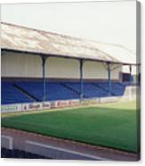 Cardiff - Ninian Park - North Stand 2 - August 1993 Canvas Print