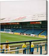 Cardiff - Ninian Park - North Stand 3 - October 2004 Canvas Print