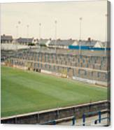 Cardiff - Ninian Park - South Stand Grange End 1 - August 1991 Canvas Print