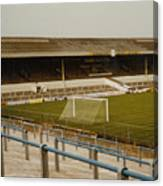 Cardiff - Ninian Park - West Stand 2 - 1969 Canvas Print