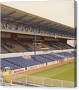 Cardiff - Ninian Park - West Stand 4 - October 1993 Canvas Print