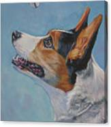 Cardigan Welsh Corgi Canvas Print