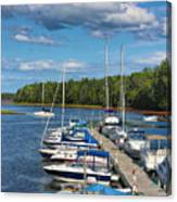 Cardigan Wharf Canvas Print