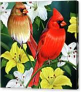 Cardinal Day 2 Canvas Print